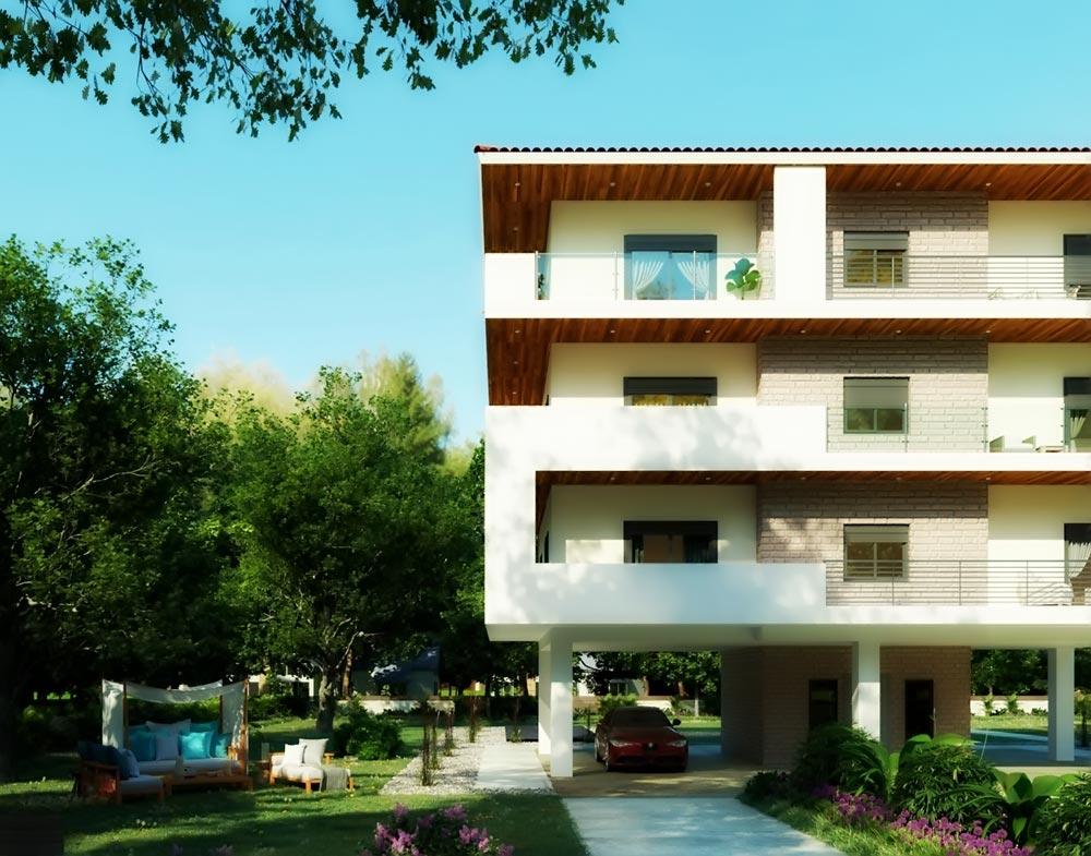 Αρχιτεκτονική Πρόταση Ανακατασκευή Οικοδομής